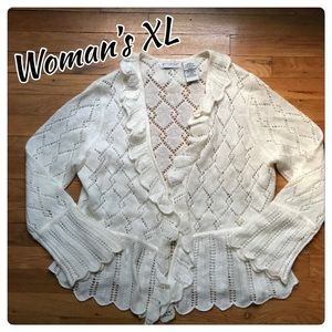 Woman's XL cardigan
